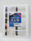 """Ampad PC Papers """"Scenes"""" 250 Print Your Own Mini Business Cards, 8.9cm by 5.1cm"""