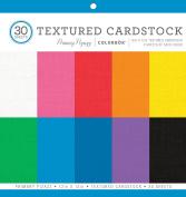 ColorBok Textured Cardstock Paper Pad, Primary Pizazz, 30cm x 30cm