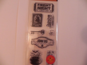 Art C Clear Stamps ~ Fright Night