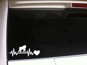 Heartbeat Lifeline Gorilla Harambe 18cm P04 Vinyl Decal Sticker RIP