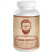 Vimulti Beard Growth and Hair Loss Treatment Proven To Support Facial Hair Growth and Hair Loss Supplement. Beard Growth Products Promote Hair Growth Fast. Works with Beard Oil and Beard Conditioner