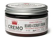 Cremo Beard & Scruff Cream, Astonishingly Superior, Best for all Lengths of Facial Hair, 120ml Can