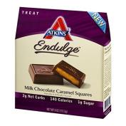 2Pack! Atkins Endulge Pieces - Milk Chocolate Caramel Squares - 150ml