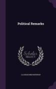 Political Remarks