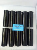 Black Opaque 10 Pack -Large 60 Dram Pop Top Bottle Vial Medical Herb Containers