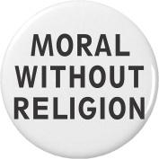 Moral Without Religion 5.7cm Bottle Opener w/ Keyring