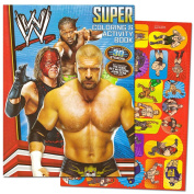 WWE Giant Colouring Book with Stickers