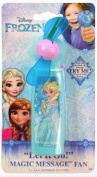 Disney Frozen Let it Go Magic Message Light Up Fan