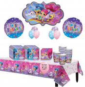 Shimmer And Shine Dessert Party Pack For 16 Guests