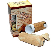 Dead Sea Qumran Scrolls Replica Clay Jar and Script by Bethlehem Gifts TM