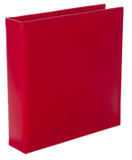 Becky Higgins Cherry Faux Leather Album for Scrapbooking, 15cm by 20cm