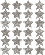 Event CircleSquare Glitter Star Stickers, Set of 24