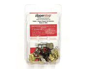 ZipperStop Wholesale - Zipper Repair Kit Solution YKK® #5 Assorted Metal Bell Pull Sliders with Top and Bottom Stoppers Made in USA
