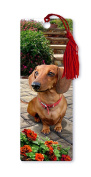 Dimension 9 3D Lenticular Bookmark with Tassel, Dachshund, Pet Breed Series