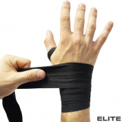 Meister ELITE 460cm Premium Adult Hand Wraps for MMA & Boxing