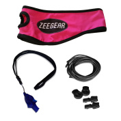 Runners Headband Emergency Whistle Reflective Laces and Locks By Zeegear