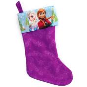 Disney 46cm Christmas Stocking Frozen Purple