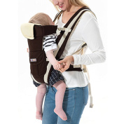 Skyblue-uk Baby Carrier Backpack 4 Position Ergonomic Adjustable Breathable Soft Baby Shoulder Carrier for Infants Toddlers NewBorn Khaki