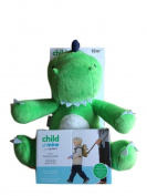 Dinosaur Toddler Leash Harness Boy 2 in 1 Travel Harness Buddy