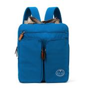 Baby Nappy Bag Travel Backpack Shoulder Bag Fit Stroller Changing Pad,Blue