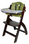Abiie Beyond Wooden High Chair with Tray. The Perfect Seating Highchair Solution for Your Child As Toddler's or a Dining Chair (6 Months up to 110kg)