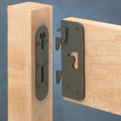 Locking Safety Bed Rail Brackets, Full Set