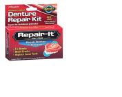 Denture Repair Kit Quick Fix Emergency Broken Tooth Repair Kit