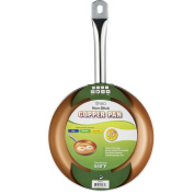 Non-stick Copper Frying Pan CeramiTech with Ceramic Coating with Induction cooking,Oven & Dishwasher safe 24cm By Tiabo ...
