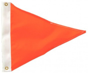 Monarch Mooring Whip 30cm Skier Down Flag, Orange PENNANT