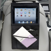 SHiZAK High Road Car Back Seat Organiser Multi-Pocket Travel Storage With Touch Screen iPad Tablet Holder