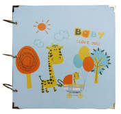 Baby Photo Album Baby's First Memory Book Baby Gifts DIY Present Fawn Baby