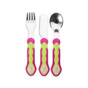 Vital Baby Stainless Steel Cutlery Set, Pink