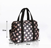 Global- 42*19*32cm Multifunction Pregnant women Going out backpack,Polyester Large capacity Mummy package,Fashion Freaky essential travel Multifunction backpack