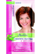 Marion Hair Colour Shampoo in Sachet Lasting 4-8 Washes - 91 - Light Copper