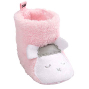 Clode® 0-18 Months Baby Girls Boys Toddler Infant Sheep Style Soft Sole Snow Boots Warm Baby Shoes