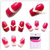 Coscelia 5PCs/Set French Nail Art Stickers Manicure Tips DIY Design Nail Tools Stickers Decoration