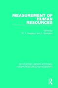 Measurement of Human Resources (Routledge Library Editions
