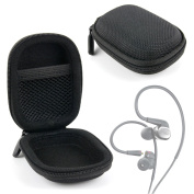Hard EVA 'Shell' Protective Storage Case Compatible with AKG N40 Earphones - by DURAGADGET