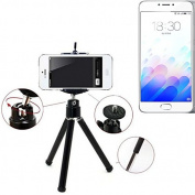 Smartphone Tripod / mobile stand / tripod for Meizu M3 Note, aluminium mobile phone holder - K-S-Trade
