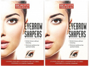 112 x Eyebrow Shapers Pre-Cut Strips (Assorted Sizes) Eyebrow Wax Strips