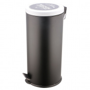 I'm Looking For An Idea kb5734 Bistro Bin Stainless Steel Black 36,79 x 61.2 x 29.4 cm 27 Litres/5 Litres