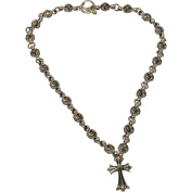 Buddha To Light Cross Sterling Silver Necklace Cross Solid Bulk 659EUR