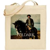 Official Poldark Reusable Eco Friendly COTTON Shopping Bag - Series 2 Ross Poldark on Seamus