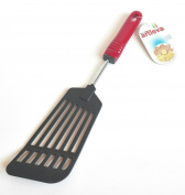 Menax - Stainless Steel & Nylon Food Turner - Large Spatula - Made in Italy