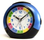 Atlanta Kids Alarm Clock Learn the time Blue 1678-5