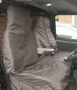 Streetwize HDVGYSC Heavy Duty Waterproof Van Nylon Seat Protectors - Grey