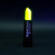 PaintGlow UV Neon Lipstick, Neon Yellow 4 g