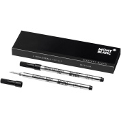 Montblanc Mystery Black 105158 M Rollerball Refill 2-Pack