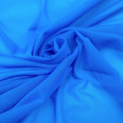 Solid Power Mesh Fabric Nylon Spandex 150cm Wide Stretch Sold BTY Many Colours