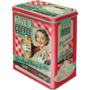 Nostalgic Art 30123 Say it 50's Have A Coffee Storage Tin L